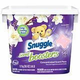 Snuggle Laundry Scent Boosters Concentrated Scent Pacs, Lavender Joy, 56-Count
