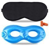Fitglam Cold/Hot Therapy Gel Eye Mask Set