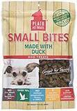 Plato Pet Treats Small Bites Made with Duck, 10.5 oz.
