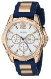 GUESS Silicone Strap Buckle Watch