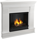 Real Flame Chateau Gel Corner Fireplace