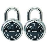 Master Lock 2 Pack Combination-Alike