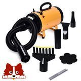 Free Paws 2 Speed Adjustable Heat Temperature Pet Grooming Force Hair Dryer