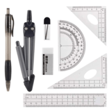 Apoulin 8 Piece Geometry Kit Set