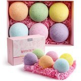 Anjou Bath Bombs Gift Set, 6 Count