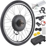 "AW 26"" x 1.75"" Rear Wheel 48V 1000W Electric Bicycle Motor Kit E-Bike Cycling Hub Conversion"