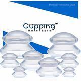 Cupping Warehouse TM Massage Cupping Professional Medical Silicone Cupping Therapy Set