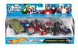 Hot Wheels Avengers 5-Pack