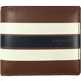 Coach Varsity Leather ID Wallet