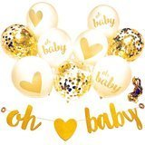 You Party Neutral Baby Shower Decorations
