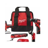 Milwaukee M12 12-Volt Lithium-Ion Cordless Combo Tool Kit