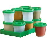 One Step Ahead Fresh N Freeze 2-Ounce Reusable Baby Food Containers