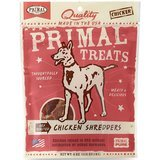Primal Chicken Shredders Dried Dog Treats