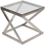Signature Design by Ashley Coylin Glass Top End Table